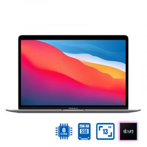 Apple MacBook Air 13-inch 2020, Apple M1 chip with 8-core CPU , VGA 7-core GPU, 256GB , Space Grey - MGN63AB/A