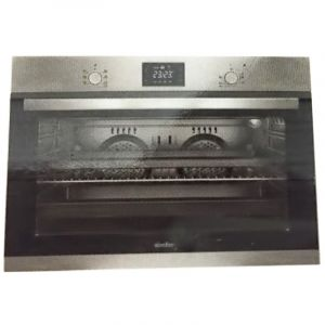Simfer Built-in Electric Oven, Silver - 90 cm -B 9109 DERIM