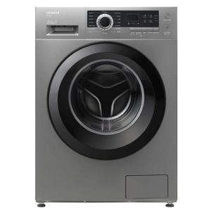 Hitachi Washing Machine Front Load ,7 kg, Drying 75 %,16 Progran,1200 cycle, Silver - BD-70CVE