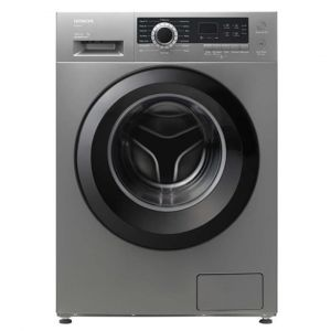 Hitachi Washing Machine Front Load ,8 kg, Drying 75 %,16 Progran,1200 cycle, Silver - BD-80CVE