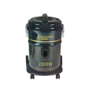 BENCHMARK Vacuum Cleaner Barrel 25L Dust Capacity, 2200W, Wire 5M Length, 50/60 Hz, Black - VC-2200 H