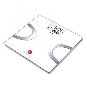 بيورر ميزان حمام أليكتروني, 180 كجم, زجاج أليكتروني. بلوتوث - BF710. الصندوق الأسود