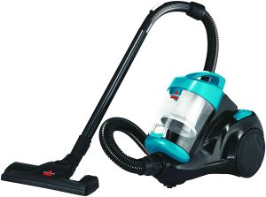 Bissell Cleanview Canister Vacuum Cleaner 1500W, 2.5Liter, Blue- 2155E.blackbox