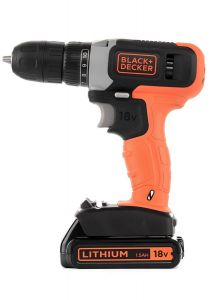 Black and Decker 18VBattery , SPEED DRILL DRIVER & 1X1.5AH BATT - BCD001C1-GB.blackbox
