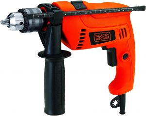 Black and Decker Corded Electric Hammer Drill 650W- HD650K-B5.blackbox