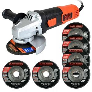 Black and Decker Angle Grinder 115mm - G720P-B5.blackbox