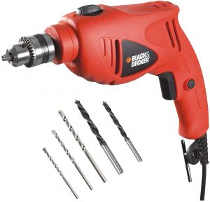 Black and Decker Corded Variable Speed Hammer Drill with Side Handle- HD5010VA5MEA1-B5.blackbox