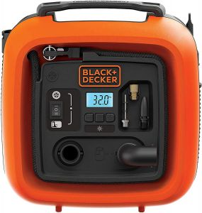 Black and Decker Portable Electric Air Inflator Compressor- ASI400-XJ.blackbox