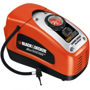 Black and Decker Portable Electric Air Station Inflator Compressor - ASI300-GB.blackbox