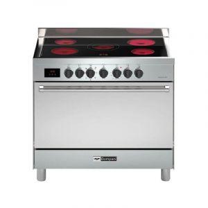 BOMPANI Electric Cooker ,5 Ceramin Rings , Silver - BO683DX