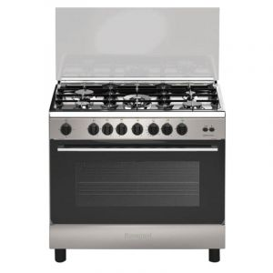 BOMPANY Gas Cooker ,Size 60x90 cm ,Full safety ,Made in Italy , 5 Burners - BO693MI-L