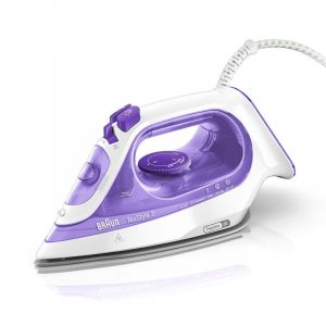 Braun TexStyle 3 Steam Iron  2350W, purple -SI 3042.blackbox