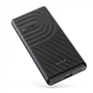 RAVPower Power Bank 10000mAh, PD + QC 2 Port 18W - RP-PB195