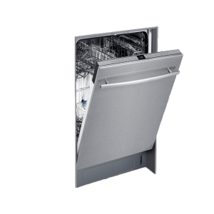 Built-in dishwasher  size 60 Cm, steel -ELBA FUll 9888.BLACKBOX