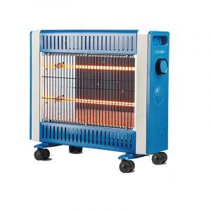 كليكون دفاية كهربائية قدرة 1500 واط, نظام أمان ايقاف تلقائي في حالة السقوط , ازرق سماوي - CK4207