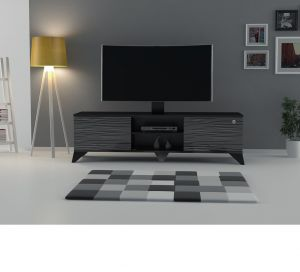 TV Table up to 60 inch With Stand,Black - CR43-160