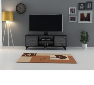 TV Table With Stand , Black -  CR45-140