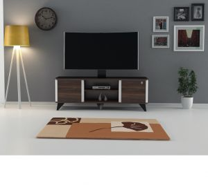 TV Table With Stand , Walnut -  CR45-140