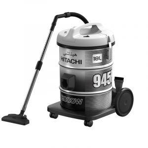 Hitachi Vacuum Cleaner 18L, 2000W, Gray - CV-945F SS220 PG