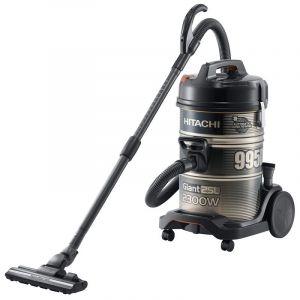 Hitachi Barrel Vacuum Cleaner , 2300 W , 25 L, 2 Filter Nano Titanium & HEPA Filter, Thailand ,Black - CV-995DC GB