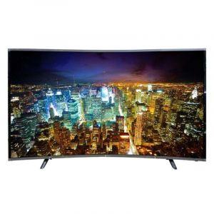 Dansat 55 Inch LED , Curved , 4K UHD , Smart Television - DTC55BU