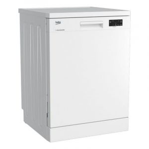 Beko Dishwasher 6 Program, 2 Level , 14 Place Setting, White - DFN16411W