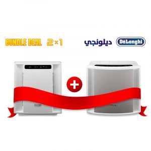 Bundle 2 in 1 Delonghi Air purifier DLAC150 Covering 40 M + DLAC75 Covering 25 M