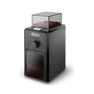 Delonghi Coffee Grinder 12 Cup , 110 W , Separate bowl for coffee beans , Black - DLKG79-BK