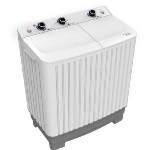 Dansat Twin Tub Washing Machine ,7.5 Kg , White - DNWT1020WR
