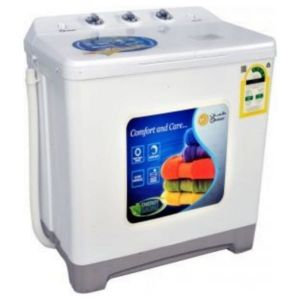 Dansat Twin Tub Washing Machine ,5 Kg , White - DNWT520WR