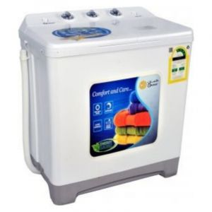 Dansat Twin Tub Washing Machine ,6.5 Kg , White - DNWT820WR