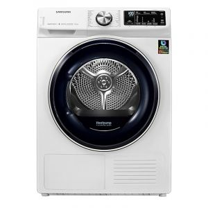 Samsung Dryer, 8 Kg , Steam condensation , White - DV80N63536