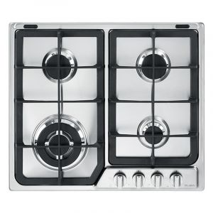Elba Hob Gas Hob Stainless Steel 60 cm - EF65-445X - Blackbox