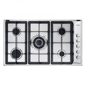 Elba Hob Gas Oven Stainless Steel 90 cm - E95-545X - Blackbox