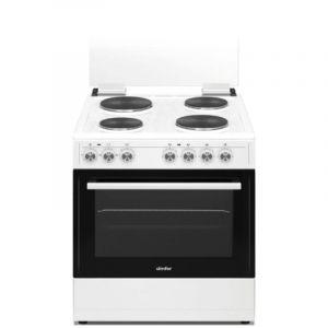 Simfer Elecric Oven 50x60 Cm, 4 Burner , Turkey, White - F606-EK
