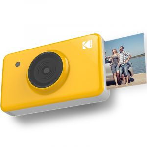 KODAK Mini SHOT Wireless 2 in 1 Instant Camera, Yellow - MS-210Y