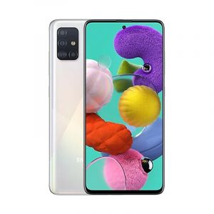 SAMSUNG Galaxy A51,128GB , 6GB RAM , 4000 mAh battery - White