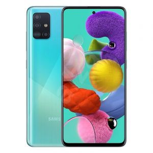 SAMSUNG Galaxy A51,128GB - 6GB RAM - 4000 mAh battery - Blue