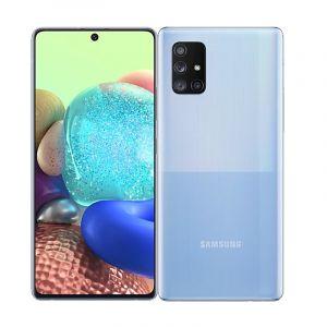 Samsung Galaxy A71 5G , 6.7 inch, 128 GB , 8GB RAM - Blue - MBSM-A716BZBUKSA-BLU