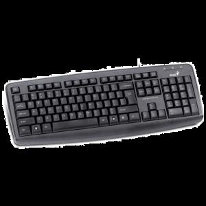 جينيس لوحة المفاتيح، يو اس بي، اسود - KB -110X