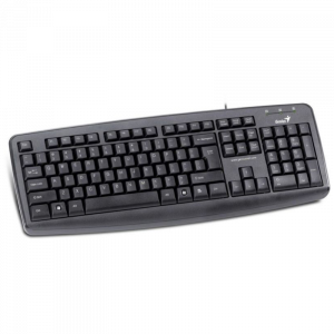 GENIUS KEYBOARD ARA CB, USB, BLACK - KB -110X
