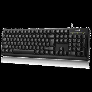 GENIUS KEYBOARD SMART APP, USB, BLACK - KB–100