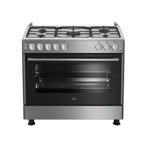 Beko Gas Cooker 90X60 5 Burner-GG15120FX