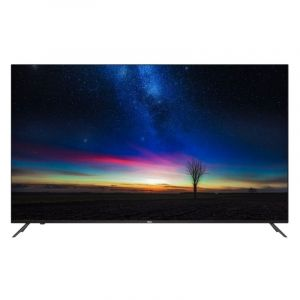 Haier TV 75 '' LED, Android 9, 4K UHD, Smart ,HDR, Black - H75S5UG