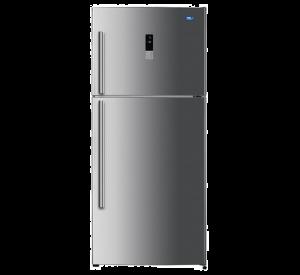 HAAS Refrigerator, 2 Door, Silver , 17 Feet, 482 Liter, HRK124SD