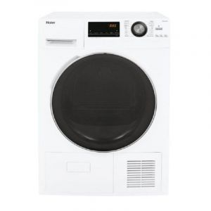 Haier Tumble Dryer Front Load, 9 Kg ,Condensor Dryer ,China , White - HD90-A636