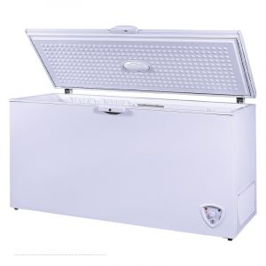 HOME QUEEN Chest Freezer, White,17.1 Feet , 484 Liter,  HQAF600