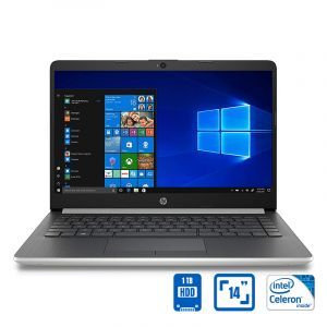 HP CELERON N4000 , 14 inch , 4 GB RAM, 1TB HDD , Black - CF2011NX-14 - Blackbox