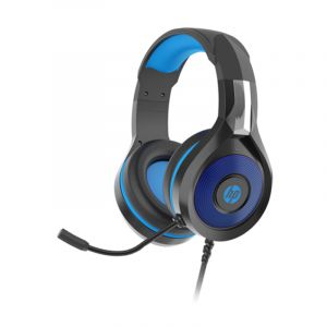HP Stereo Headphone with LED , Black - DHE-8010