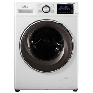 Home Queen Washing Machine Front Load ,10 kg, Drying 75 %,1400 cycle, White - HQFW10